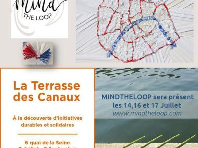 Paris le 14 Juillet, au soleil et en terrasse au bord du canal de l'Ourcq, what else ?