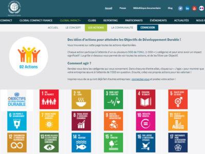 UN Global Compact France, partagez vos engagements développement durable !