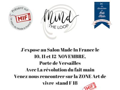 J-6 avant le MIF , Le salon Made In France (Paris, porte de Versailles)